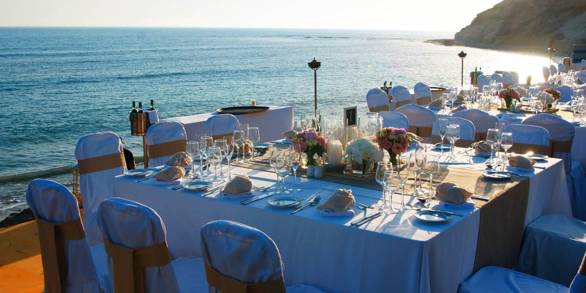 Wedding On The Beach in Cyprus Aphrodite Hills Resort Cyprus Prestigious Venues
